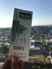 Space Needle ticket and beautiful views