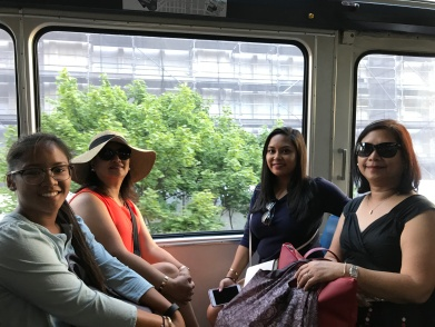 On our way to the Space Needle